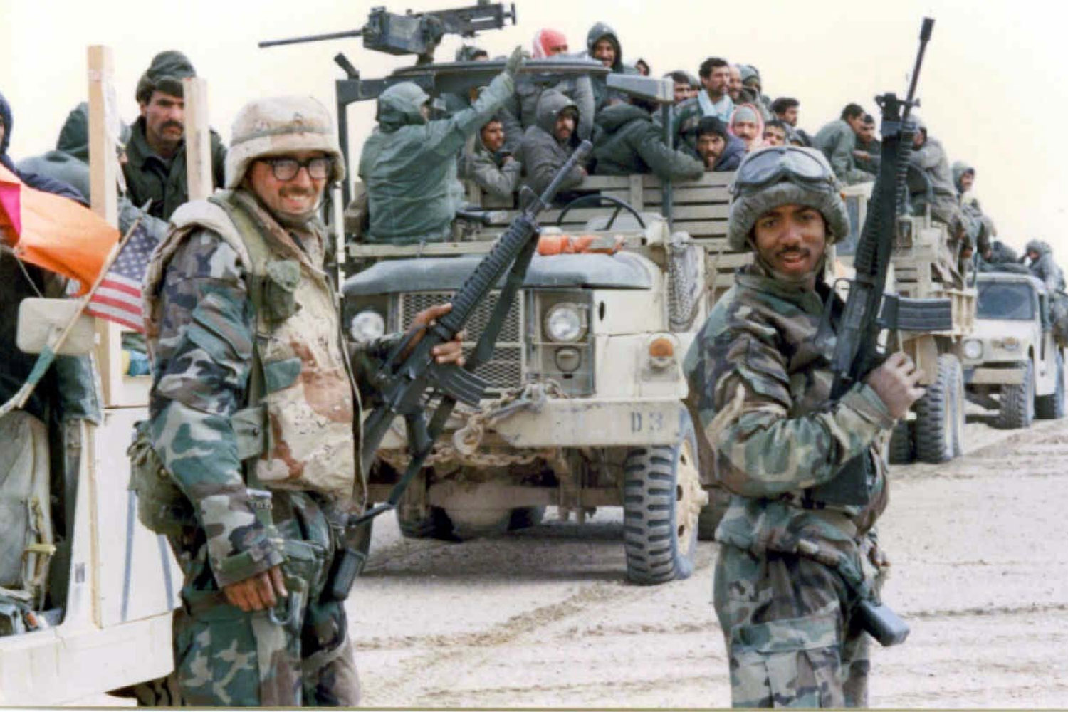 the events that led to the 1991 gulf war Operation desert storm, popularly known as the first gulf war, was the successful us-allied response to iraq's attempt to overwhelm neighboring kuwait kuwait's liberation in 1991 brought to the battlefield a new era of military technology.